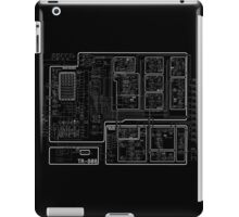 Roland 808 Circuit Map Black iPad Case/Skin