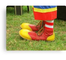 Clown Kicks Canvas Print