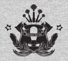 Barista Crest (light tees and hoodies) Kids Clothes