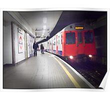 We're going underground! Going underground! Poster
