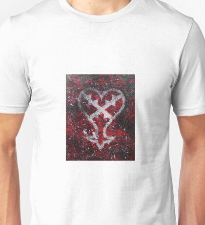 Kingdom Hearts Heartless Symbol Unisex T-Shirt