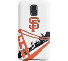 San Francisco Giants Stencil Samsung Galaxy Case/Skin