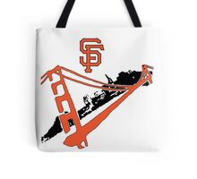San Francisco Giants Stencil Tote Bag