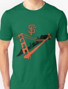 San Francisco Giants Stencil Unisex T-Shirt