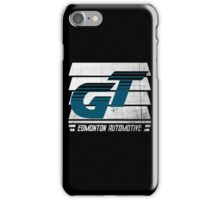 Edmonton Auto - Teal & White - Slotted Up iPhone Case/Skin