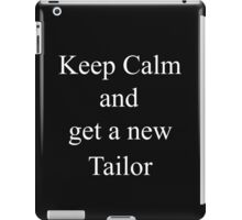 Did They Eat Your Tailor 2? iPad Case/Skin