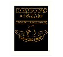 Beauty Gym Art Print