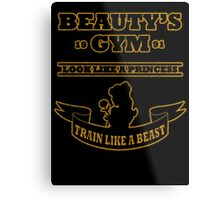 Beauty Gym Metal Print