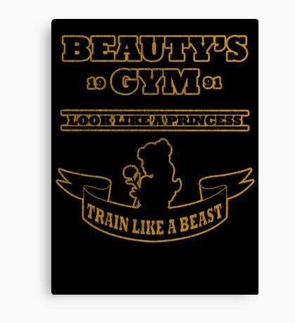 Beauty Gym Canvas Print