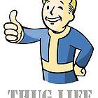 Vault Boy Thug Life by jakobin