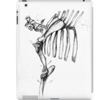 Annotated Skeleton #1 iPad Case/Skin