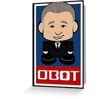 Maher Politico'bot Toy Robot 2.0 Greeting Card