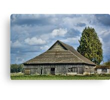 Skagit Barn Canvas Print