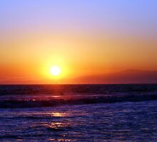 Seal Beach Sunset by Polly Peacock