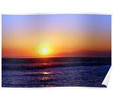 Seal Beach Sunset Poster