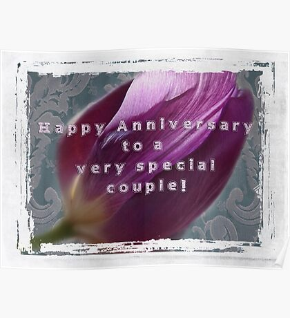 For Jerry and Sherry~Happy Anniversary Poster