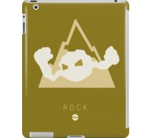 Pokemon Type - Rock iPad Case/Skin