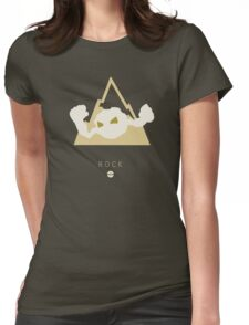 Pokemon Type - Rock Womens Fitted T-Shirt