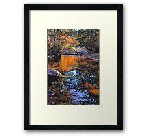Big Rock Fall Framed Print