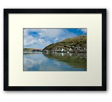 Lower Town ( nr Newport ) Wales Framed Print
