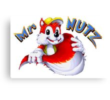 Mr. Nutz Canvas Print