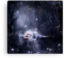 Moonlight fairy Canvas Print