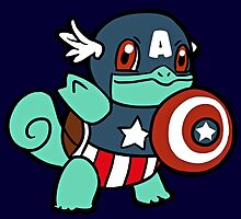Squirtle America by luterocleric