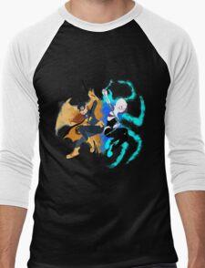 Batgirl and Spider Gwen Men's Baseball ¾ T-Shirt