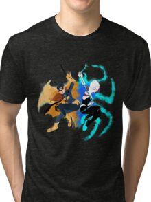 Batgirl and Spider Gwen Tri-blend T-Shirt
