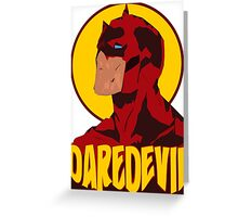 DareDevil Shredded Greeting Card