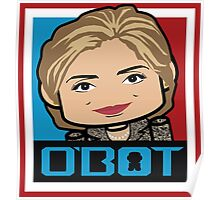 Hillary Politico'bot Toy Robot 3.0 Poster