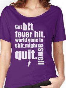 Got bit  Fever hit. Women's Relaxed Fit T-Shirt