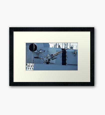 maritime heavy kalashnikov machine gun  Framed Print