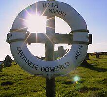 Cornwall: Iota Grave at Tintagel Church by Rob Parsons