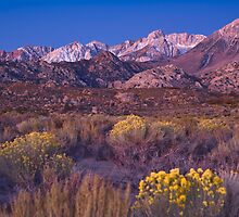 Sierras Alpine Glow by photosbyflood