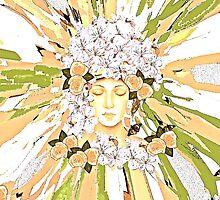 The Flower Girl by Saundra Myles