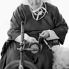 Spinning Wool by LeeoPhotography