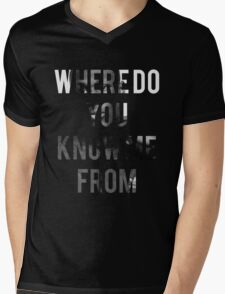 STORMZY // WHERE DO YOU KNOW ME FROM T-Shirt