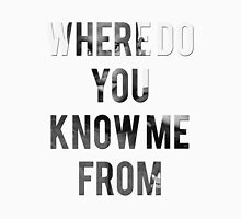 STORMZY // WHERE DO YOU KNOW ME FROM Unisex T-Shirt