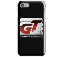 Edmonton Auto - Red & White - Slotted Up iPhone Case/Skin