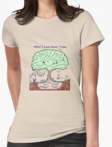 What I Love About Trees Womens Fitted T-Shirt