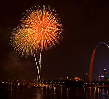 Fireworks by Sateesh Peddini