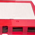 Red Eight Track Tape by Edward Fielding