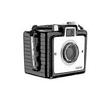 Vintage Box Camera Photographic Print