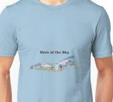 Hero of the Sky - Viet Nam Era Phantom Jet Unisex T-Shirt