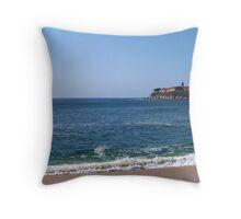 Barcelo Beach Throw Pillow