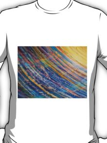 Radiant Sunlight - Original Abstract by Holly Cannell T-Shirt