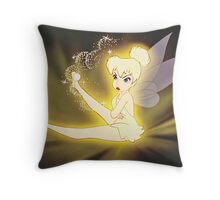 Moody Fairy! Throw Pillow