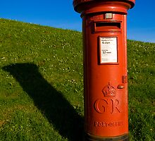 George V Pillar Box, Plymouth Hoe, Devon. U.K. by Jeremiah