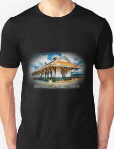 Pascagoula Train Depot - Rail Road - Historical Unisex T-Shirt